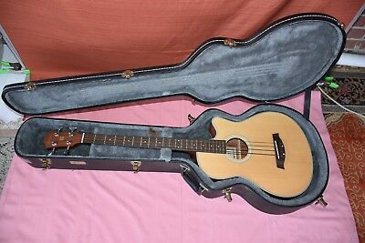 IBANEZ ARTCORE AEB30 ACOUSTIC/ELECTRIC BASS GUITAR W/Case