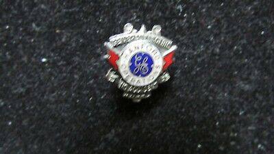 Antique 1955 Federal Hanford General Electric 5-Year No Accident Award Pin RARE!