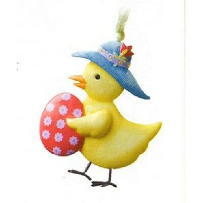 Not dated Longaberger Easter Chick Tie-On New in Box!! Too Cute!!!
