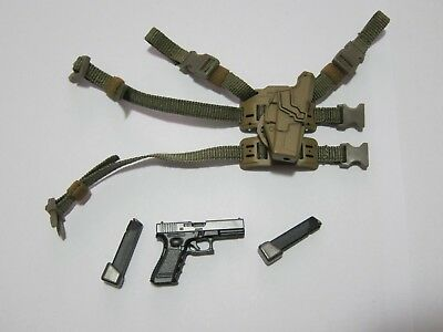"""1/6 Scale Easy&Simple ES 26029 PMC G17 & Holster for 12"""" Action Figure"""