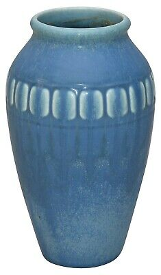 Rookwood Pottery 1927 Blue Arts And Crafts Vase 2312