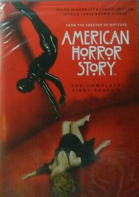 AMERICAN HORROR STORY The COMPLETE FIRST SEASON 12 Episodes + Special Features