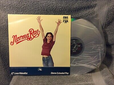 """Laser Disc """"Norma Rae"""" , Sally Field 12"""" Disc used"""