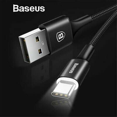 Baseus USB-C Type C Data Cable Fast Charging High Speed for Samsung S10 S10e