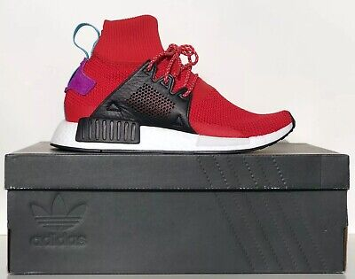 6a6f3b6c41ec8 Adidas Men s Originals NMD XR1 Winter Scarlet Black BZ0632 US Men s Sz 7.5-  New