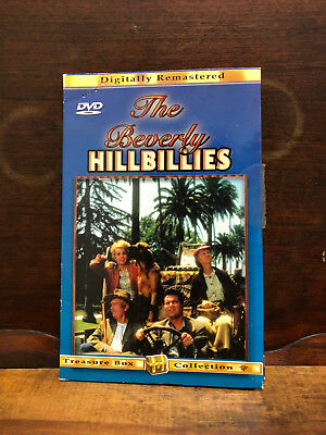 THE BEVERLY HILLBILLIES Treasure Box Collection DVD Remastered Comedy EXC