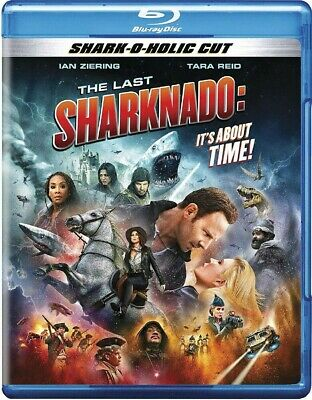"The Last Sharknado It/'s About Time Poster 36x24/"" 21x14/"" Moview New 2018 Silk"