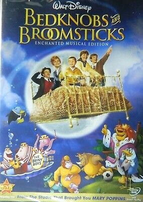 Walt Disney's BEDKNOBS and BROOMSTICKS (1971) Enchanted Musical Edition SEALED