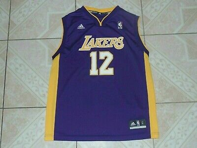 bef9b12aa Adidas Dwight Howard  12 Los Angeles Lakers Basketball NBA Jersey Junior L  New