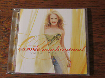 Carnival Ride Carrie Underwood Cd 2007 Arista/Nashville Country Free Shipping