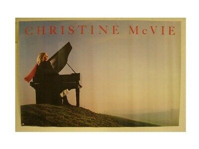 Christine McVie Of Fleetwood Mac Poster OLD