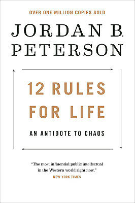 12 Rules for Life: An Antidote to Chaos HARDCOVER - FREE SHIPPING