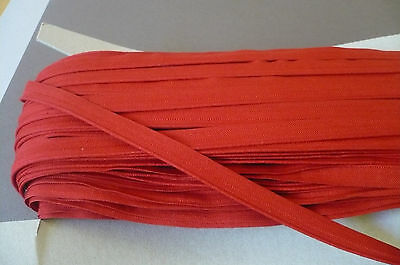Red Cotton Piping. Vintage. 12mms  x 3 Metres