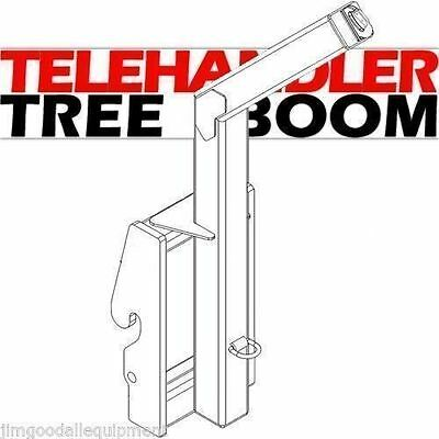 Tree Boom Attachment for your Telehandler,Rated for 8000 Lbs! Fits Case TX140-45