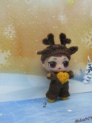 Deer, Christmas clothes for LOL Surprise, LOL doll outfit,  handmade