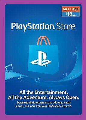 Recommended | $10 PSN PlayStation ® Store Gift Card - Email Delivery