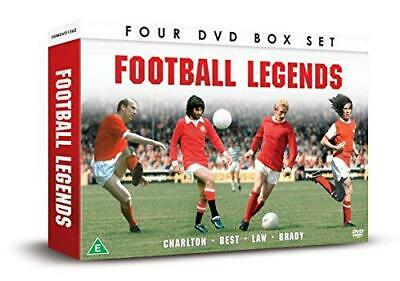 Football Legends: Best, Brady, Charlton And Law [DVD], Excellent DVD, ,