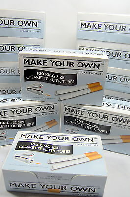 1000 Make Your Own Cigarette Filter Tubes King Size By Imperial Tobacco New