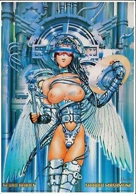 affiche offset Neuro Heaven; de Masamune Shirow 68 x 98 cm