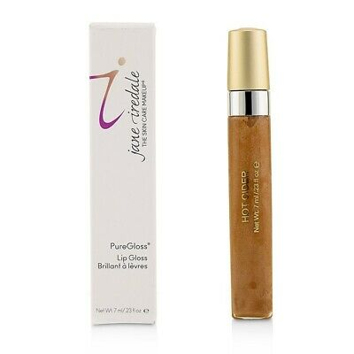 Jane Iredale PureGloss Lip Gloss (New Packaging) - Hot Cider 7ml Lip Color