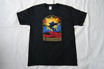 Foo Fighters Pegasus T Shirt New Official Colour & The Shape In Your Honor