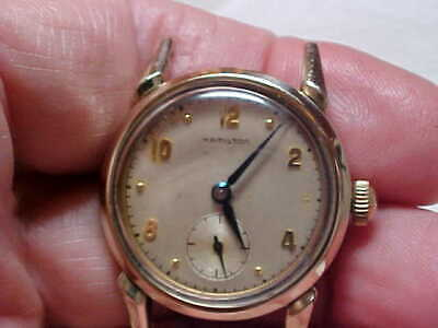 d828b6a162e Vintage Mans Hamilton Wristwatch (Langdon) Model Gf Case 747 Mw Movement  Nice