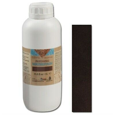 1l Dark Brown Eco Leather Water Stain - -flo Professional Water () Dye