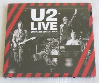 U2 Live Johannesburg 1998 Cd Digipack Made In Brazil Stand By Me Staring At The