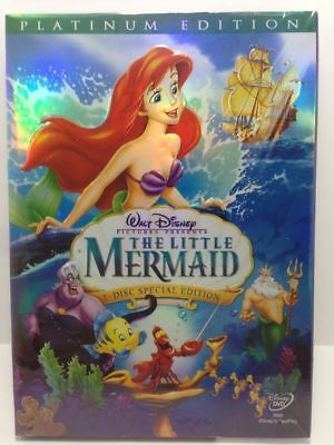 The Little Mermaid (DVD, 2006, 2-Disc Set, Platinum Edition)1