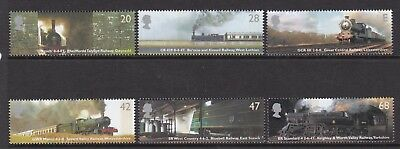 Gb Great Britain 2004 Classic Locomotives Set Never Hinged Mint