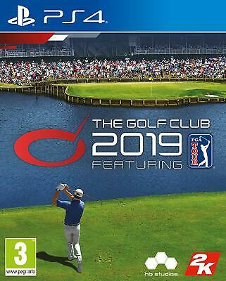 The Golf Club 2019 Featuring PGA Tour PS4 Game For PlayStation 4 - NEW & SEALED