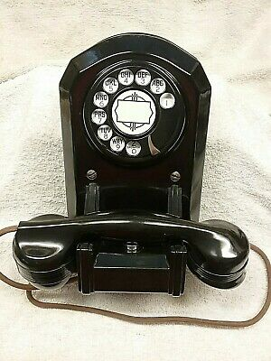 Automatic Electric MODEL 35 Bakelite Wall Telephone!