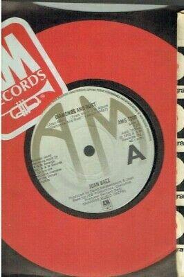 Joan Baez Diamonds And Rust 45 1975