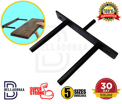 Heavy Duty Long Concealed / Invisible / Hidden Floating Shelf Brackets