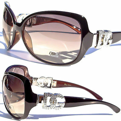 DG Sunglasses Fashion Cat Eye Vintage Retro Designer Eyewear Large Lens UV 100%