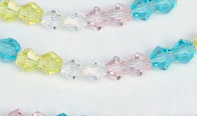 Austrian Crystal loose Beads Baby Colors Pink Blue DIY Jewelry supplies findings