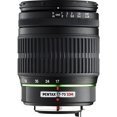 Refurbished Unboxed Pentax DA 17-70mm F4 ED IF SDM Lens