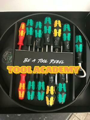 Wera Tools New Screwdriver Set With Round Tray