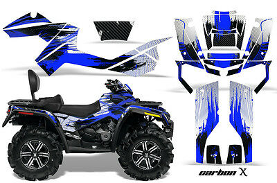 ATV Graphics Kit Decal Wrap For CanAm Outlander Max 500/800 2006-2012 CARBONX U