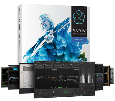 IZOTOPE MUSIC PRODUCTION SUITE 2018 .Instant delivery.