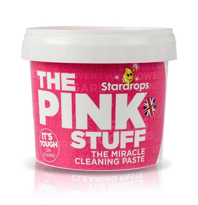 The Pink Stuff Household Safe Cleaner Paste 1 x 500g Rare Stardrops Mrs Hinch