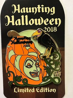 Disneyland WDW Disney Parks 2018 Villains Haunting Halloween MALEFICENT LE Pin
