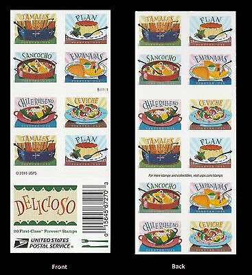 US 5197b Delicioso forever booklet 20 MNH 2017
