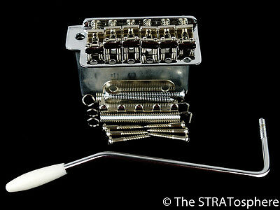 NEW Gotoh Chrome Vintage Strat TREMOLO Steel for Fender Stratocaster SB-0202-010