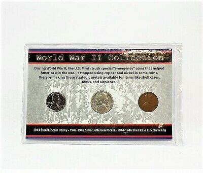 First Commemorative Mint World War II Collection Set