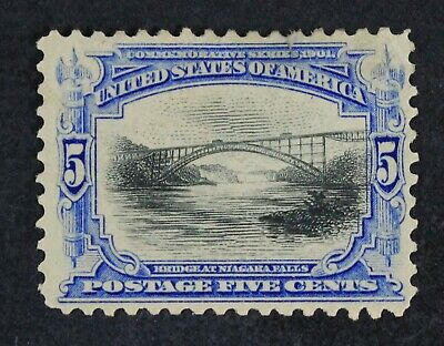 CKStamps: US Stamps Collection Scott#297 5c Mint H OG Spot Thin CV$75