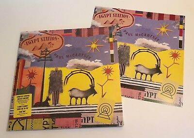 Paul McCartney / Egypt Station / One Time Pressing Ed. / with Promo Card / Mint!