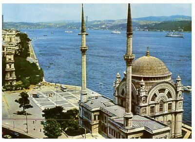 (T 855) Postcard - Turkey - Mosque in Istanbul