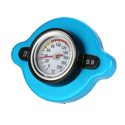 0.9 Bar Thermostatic Radiator Cap Cover with Water Temp Temperature Gauge S0W6