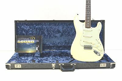 Fender Artist Series John Mayer Stratocaster Electric Guitar - Olympic White